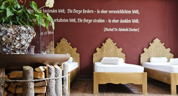 Ruheraum Wellnesshotel Stubaierhof Neustift
