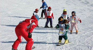 Kinderskikurs Skigebiet Carezza