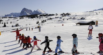 Kinderskikurs Ski Center Seiser Alm