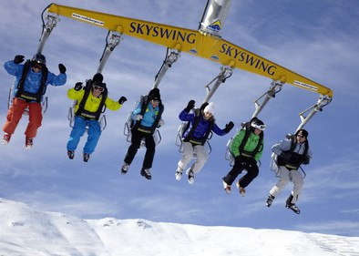 Skyswing am Ski Center Serfaus Fiss Ladis