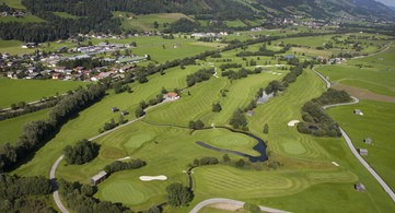 Vista aerea Golf Club Mittersill