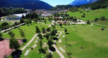 Sportplatz Andalo traumhafter Panoramablick