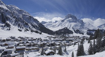 Panorama Lech Winter