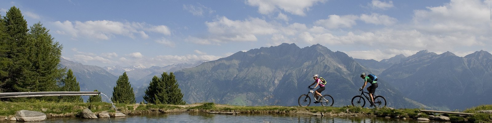 Mountainbike Tour See in Naturns